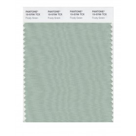 Pantone 15-5706 TCX Swatch Card Frosty Green
