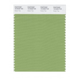 Pantone 15-6428 TCX Swatch Card Green Tea