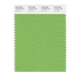 Pantone 15-6442 TCX Swatch Card Bud Green