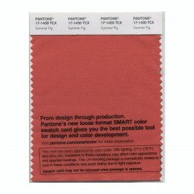 Pantone 17-1450 TCX Swatch Card Summer Fig