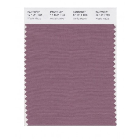 Pantone 17-1511 TCX Swatch Card Wistful Mauve