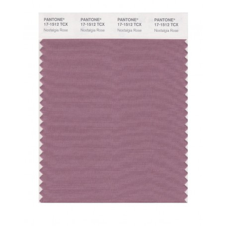 Pantone 17-1512 TCX Swatch Card Nostalgia Rose