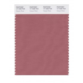 Pantone 17-1520 TCX Swatch Card Canyone Rose