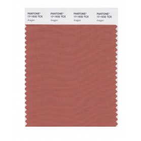 Pantone 17-1532 TCX Swatch Card Aragon