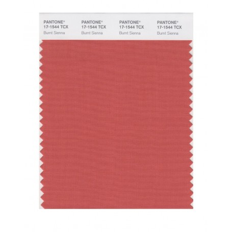 Pantone 17-1544 TCX Swatch Card Burnt Sienna