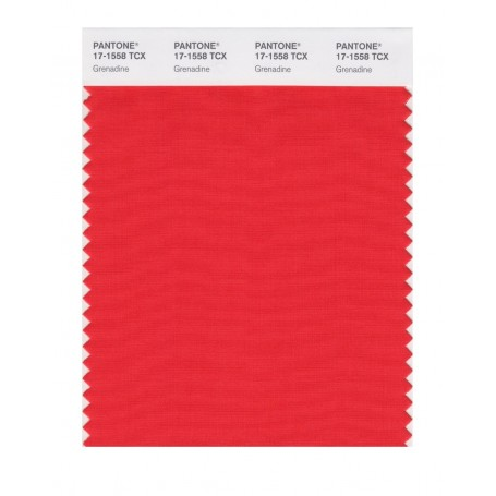 Pantone 17-1558 TCX Swatch Card Grenadine