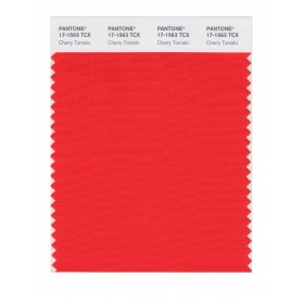 Pantone 17-1563 TCX Swatch Card Cherry Tomato