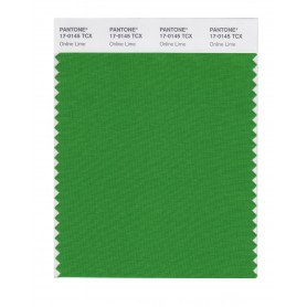Pantone 17-0145 TCX Swatch Card Online Lime