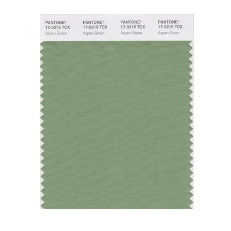 Pantone 17-0215 TCX Swatch Card Aspen Green