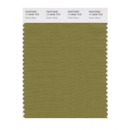 Pantone 17-0636 TCX Swatch Card Green Moss