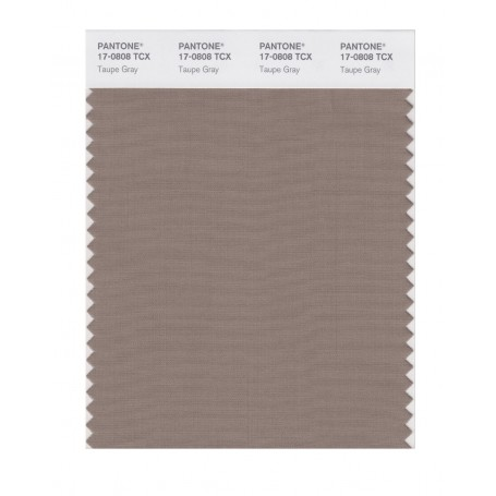 Pantone 17-0808 TCX Swatch Card Taupe Gray