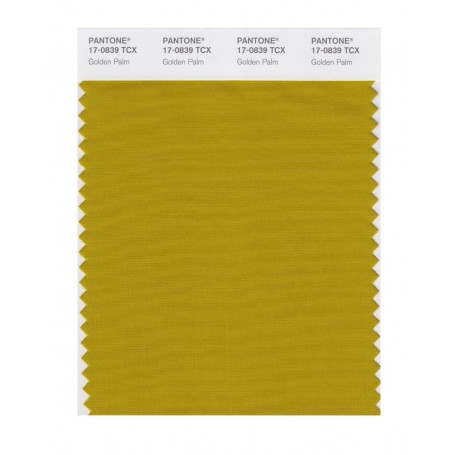 Pantone 17-0839 TCX Swatch Card Golden Palm