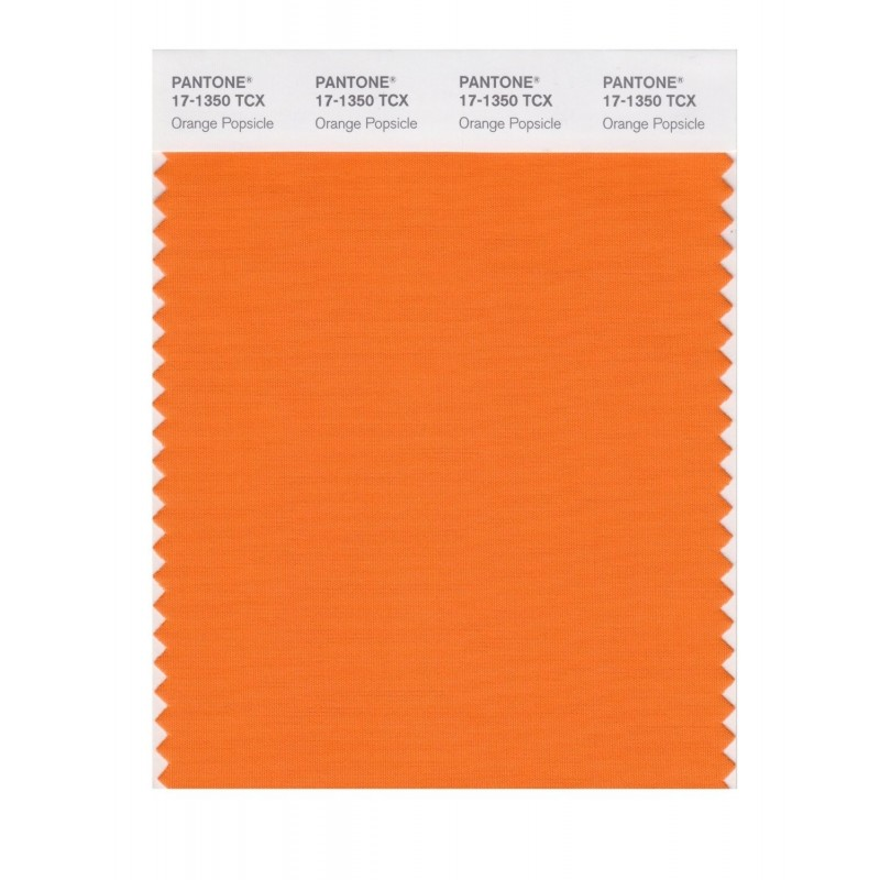 Pantone 17-1350 TCX Swatch Card Popsicle