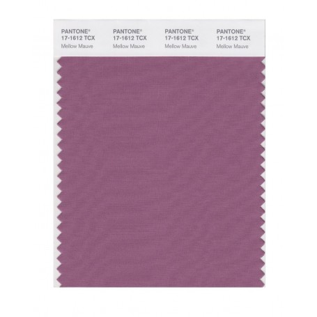 Pantone 17-1612 TCX Swatch Card Mellow Mauve