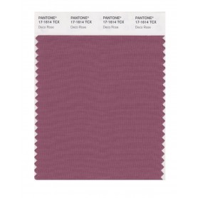 Pantone 17-1614 TCX Swatch Card Deco Rose