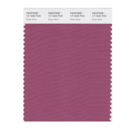 Pantone 17-1623 TCX Swatch Card Rose Wine
