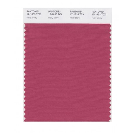 Pantone 17-1633 TCX Swatch Card Holly Berry