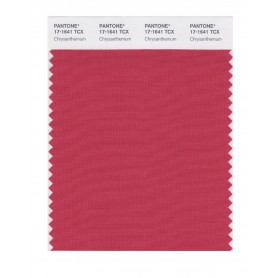 Pantone 17-1641 TCX Swatch Card Chrysanthemum