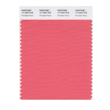 Pantone 17-1643 TCX Swatch Card Porcelain Rose