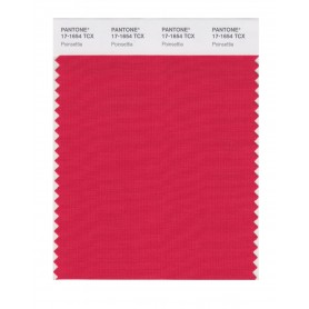 Pantone 17-1654 TCX Swatch Card Poinsettia