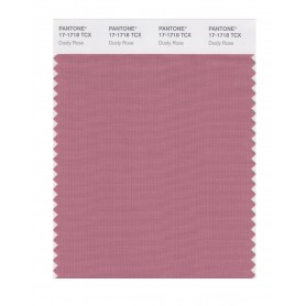 Pantone 17-1718 TCX Swatch Card Dusty Rose