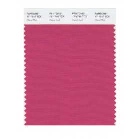 Pantone 17-1740 TCX Swatch Card Claret Red