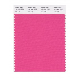 Pantone 17-1937 TCX Swatch Card Hot Pink