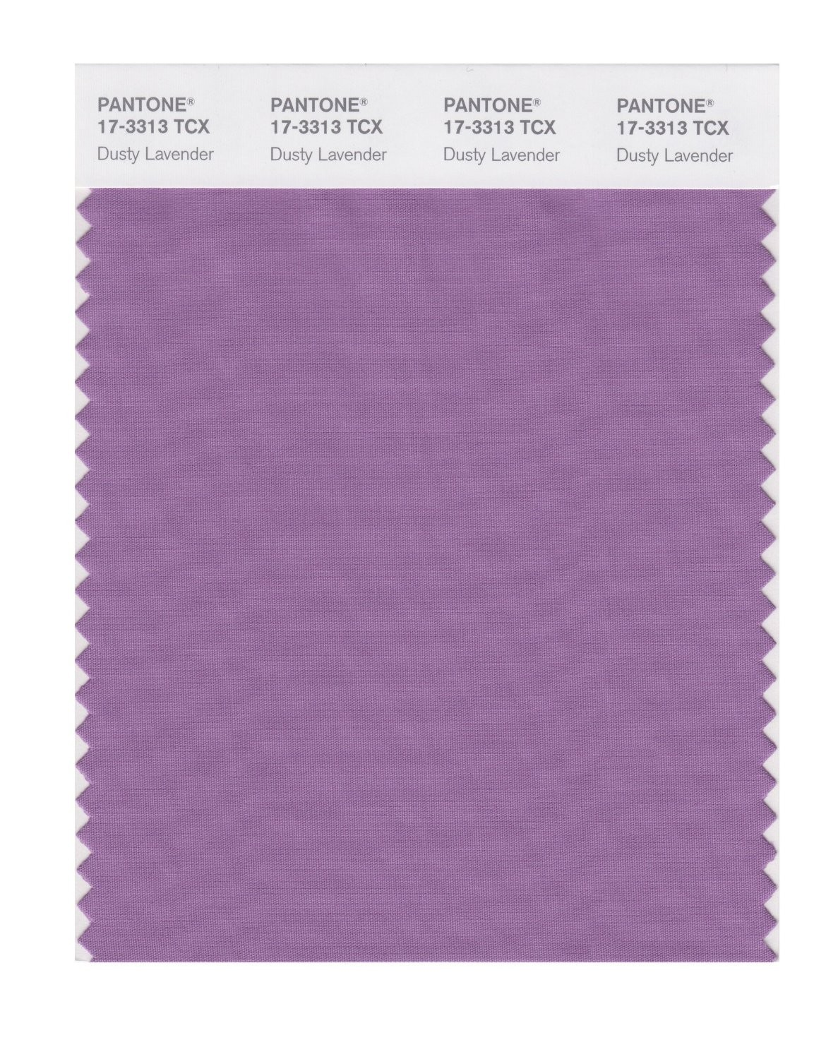 Pantone 17-3313 TCX Swatch Card Dusty Lavendar
