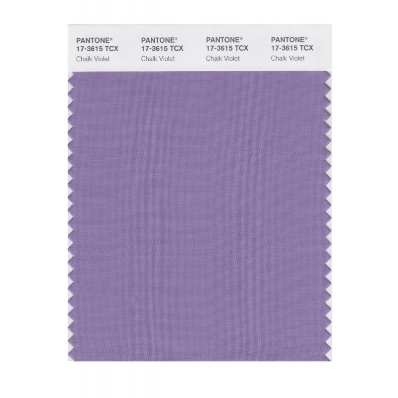 Pantone 17-3615 TCX Swatch Card Chalk Violet