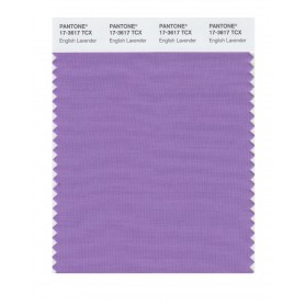 Pantone 17-3617 TCX Swatch Card English Lavendar