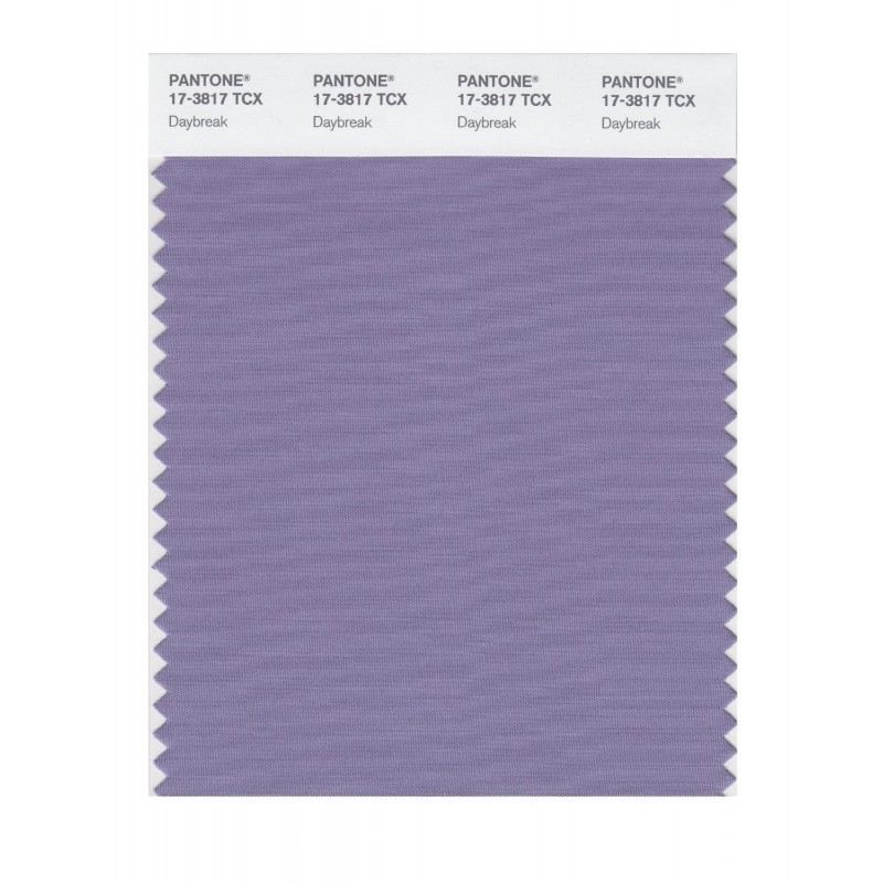 Pantone 17-3817 TCX Swatch Card Daybreak