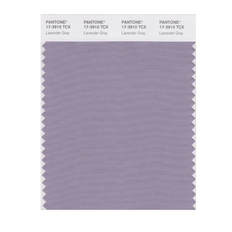 Pantone 17-3910 TCX Swatch Card Lavender Gray