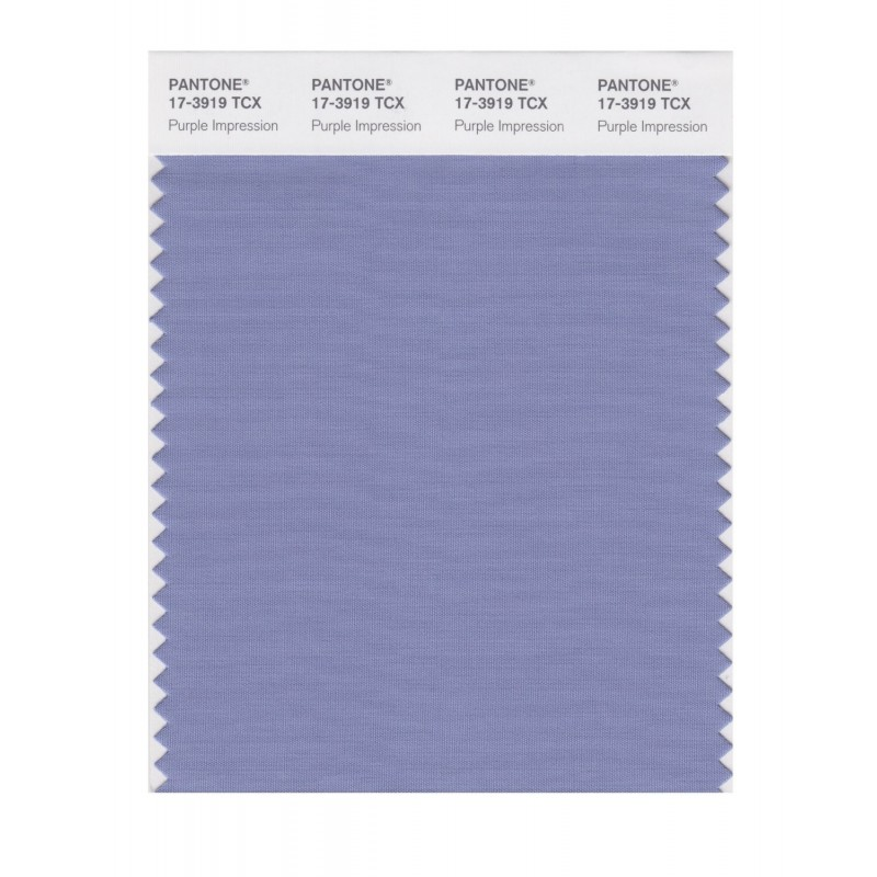 Pantone 17-3919 TCX Swatch Card Purple Impressio