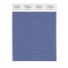 Pantone 17-3923 TCX Swatch Card Colony Blue