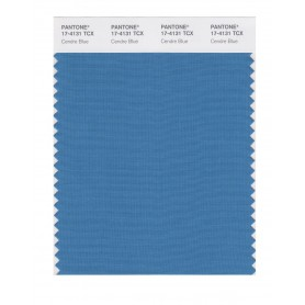 Pantone 17-4131 TCX Swatch Card Cendre Blue