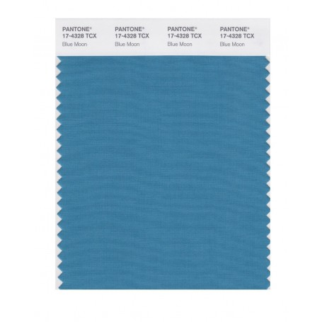 Pantone 17-4328 TCX Swatch Card Blue Moon