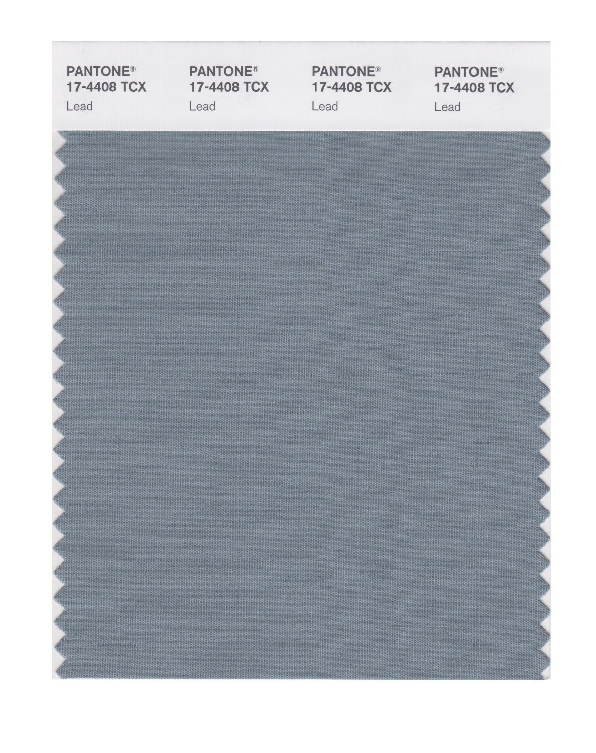 Pantone 17-4408 TCX Swatch Card Lead