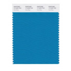 Pantone 17-4432 TCX Swatch Card Vivid Blue