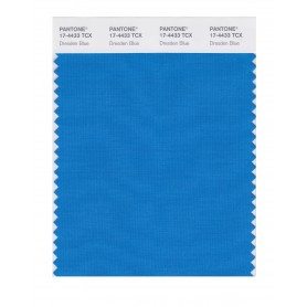 Pantone 17-4433 TCX Swatch Card Dresden Blue