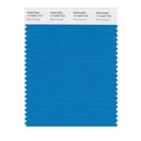 Pantone 17-4440 TCX Swatch Card Blue Danube