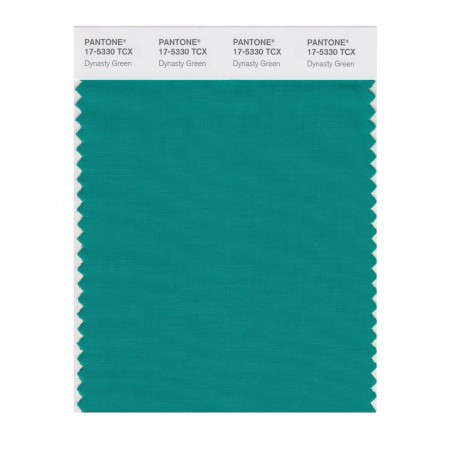 Pantone 17-5330 TCX Swatch Card Dynasty Green