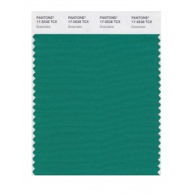 Pantone 17-5528 TCX Swatch Card Greenlake