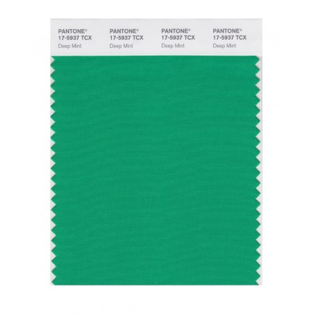 Pantone 17-5937 TCX Swatch Card Deep Mint