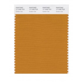 Pantone 17-1046 TCX Swatch Card Golden Oak