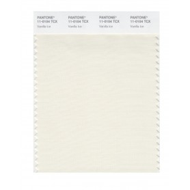 Pantone 11-0104 TCX Swatch Card Vanilla Ice
