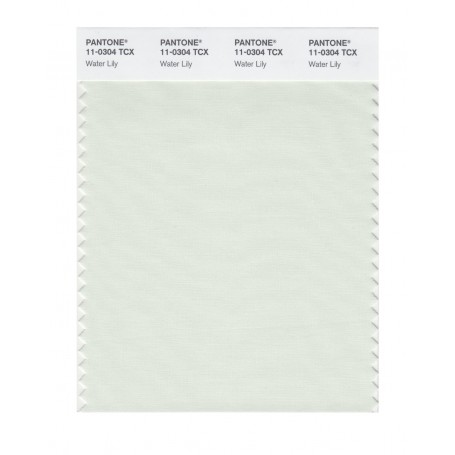 Pantone 11-0304 TCX Swatch Card Water Lily