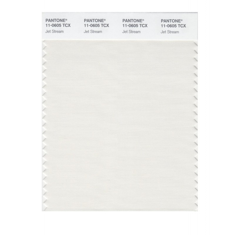 Pantone 11-0605 TCX Swatch Card Jet Stream