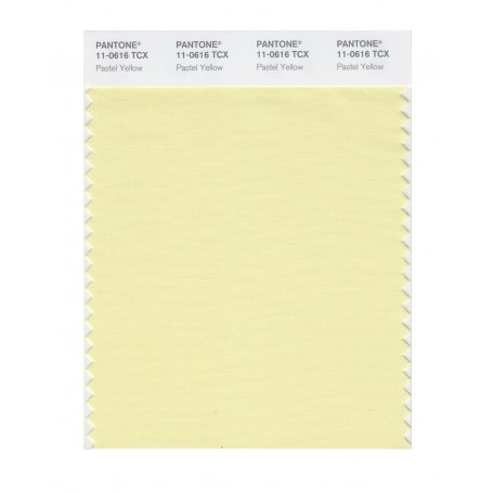 Pantone 11-0616 TCX Swatch Card Pastel Yellow