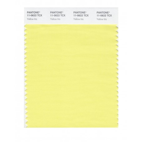 Pantone 11-0622 TCX Swatch Card Yellow Iris