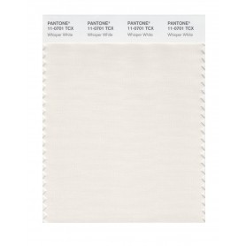Pantone 11-0701 TCX Swatch Card Whisper White